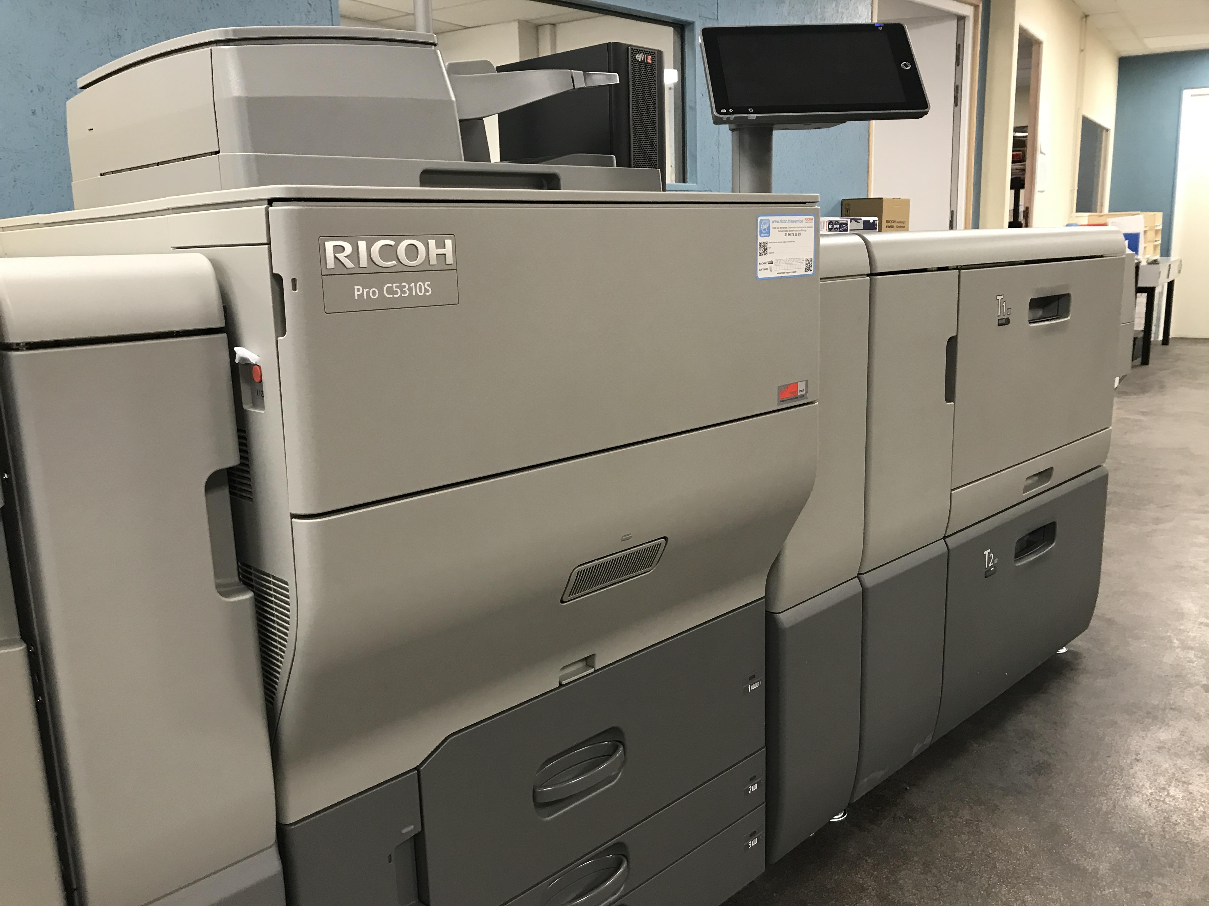 Voici notre nouvelle imprimante numérique !