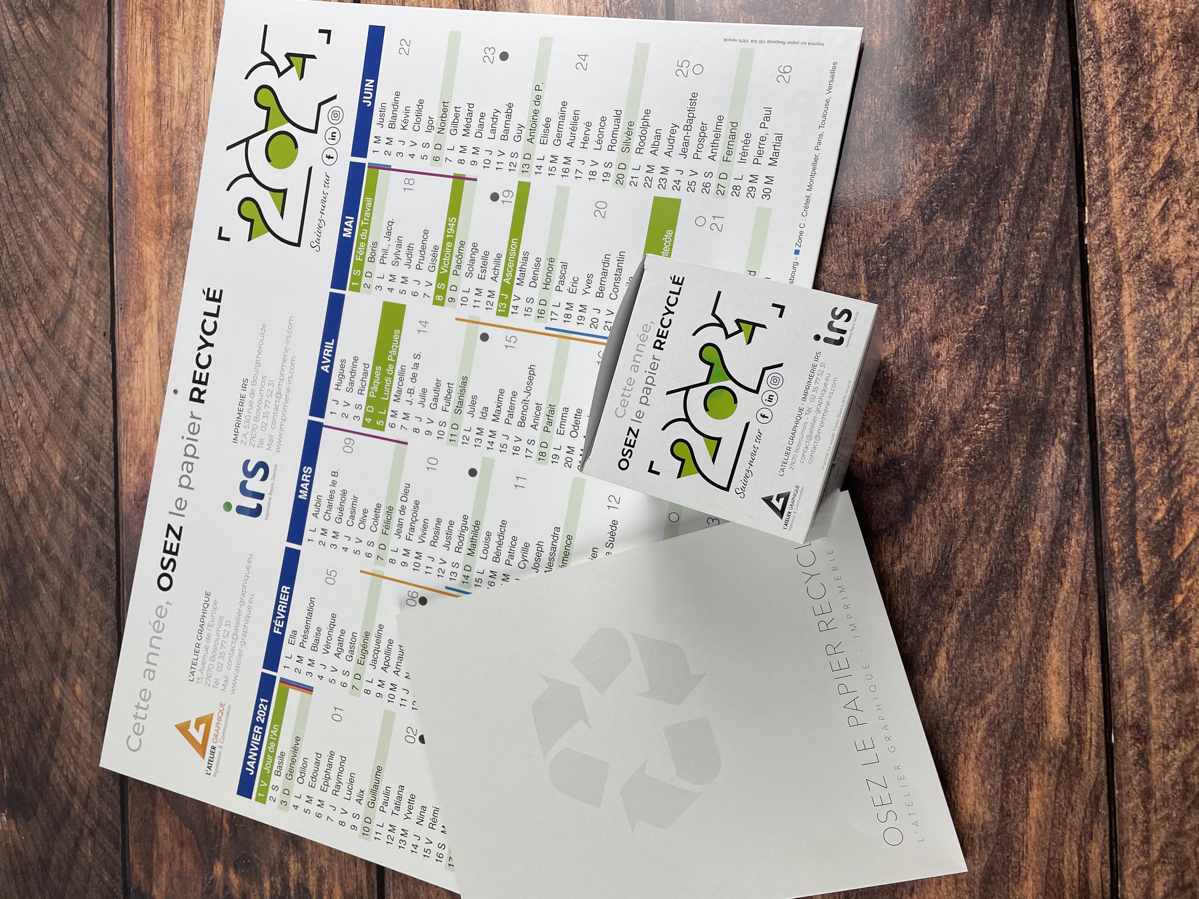 Osez le papier recyclé en 2021 !